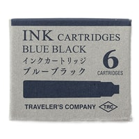 Traveler's Company Blue Fountain Pen Cartridges (6 pcs)