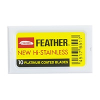 Feather 81s Extra Sharp Double Edge Razor Blades (10 pcs)