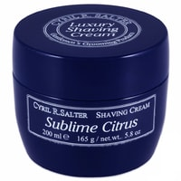 Cyril R. Salter Shaving Cream - Lemon (200 ml)