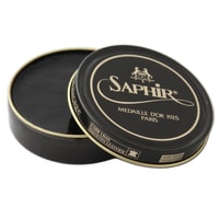 Saphir Médaille d'Or Shoe Wax Polish - Black (50 ml)