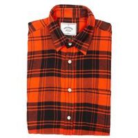 Portuguese Flannel Vila Shirt - Red and Black Checkers