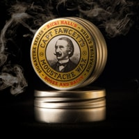 Captain Fawcett Ricki Hall's Booze & Baccy Moustache Wax (15 ml)