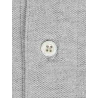 John & Paul Mother-of-pearl Polo - Light Grey