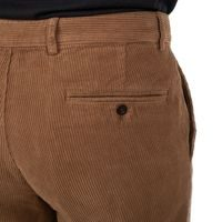 Portuguese Flannel Corduroy Trousers - Brown