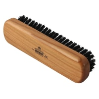 Kent Handmade Travel Sized Natural Bristle Clothes Brush (CC2)