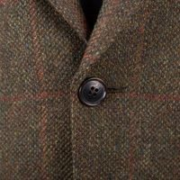 Walker Slater Edward Tweed Jacket - Green & Red Windowpane