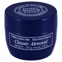 Cyril R. Salter Shaving Cream - Almond (200 ml)