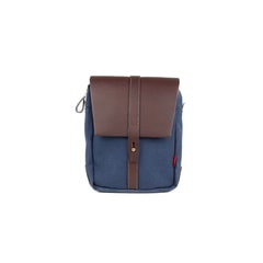 John Chapman Itchen Navy Shoulder Bag