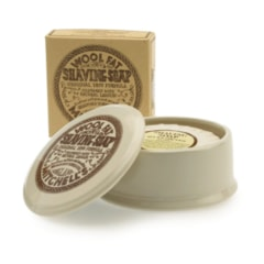 Mitchell's Original Wool Fat Shaving Soap in Ceramic Bowl (125 g)