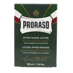 Proraso Green Refreshing Aftershave Lotion with Eucalyptus (100 ml)