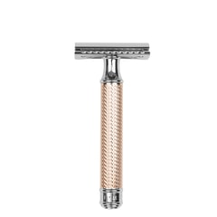 Mühle R89 Closed Comb Rosegold Safety Razor