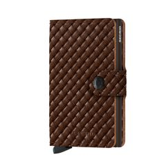 Secrid Miniwallet Basket - Brown