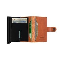 Secrid Miniwallet Perforated - Cognac