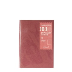 Refill #003: Blank Notebook (Passport)