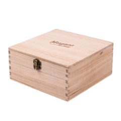 Morgan's Brazilian Orange Wooden Gift Box