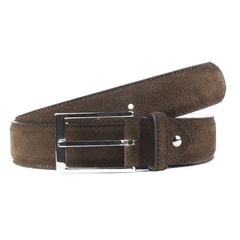 Berwick Dark Brown Suede Belt