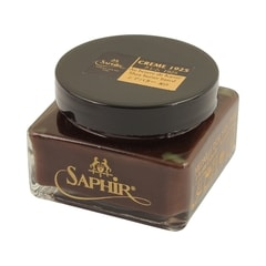 Saphir Médaille d'Or Pommadier Shoe Cream Polish - Tobacco Brown (75 ml)