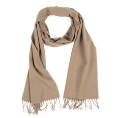 John & Paul Beige Wool Scarf