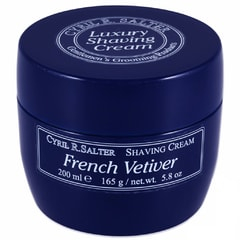 Cyril R. Salter Shaving Cream - French Vetiver (200 ml)