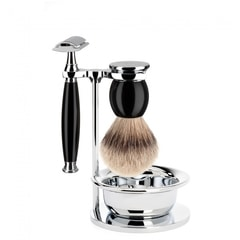 Mühle Sophist Shaving Set - Razor, Brush, Stand, Bowl