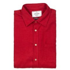 Portuguese Flannel Teca Shirt - Red