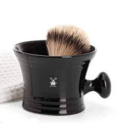 Mühle Black Porcelain Shaving Mug