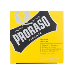 Proraso Wood & Spice Refreshing Tissues (6 pcs)