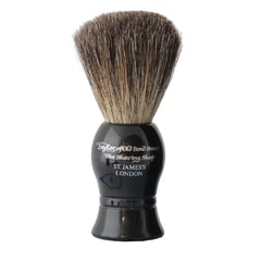 Taylor of Old Bond Street Pure Badger Black Shaving Brush