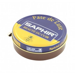 Saphir Beauté du Cuir Shoe Wax Polish - Medium Brown (50 ml)