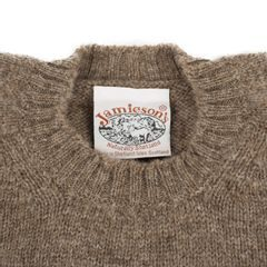 Jamieson's Brown Shetland Wool Sweater
