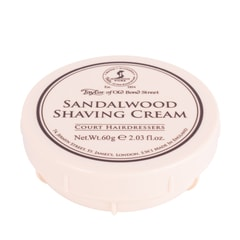 Taylor of Old Bond Street Shaving Cream - Sandalwood (60 ml)