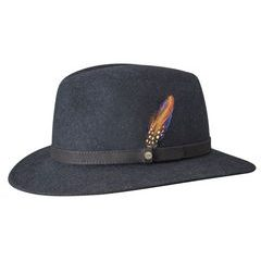 Stetson Navy Powell Traveller Woolfelt Hat