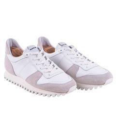Novesta Marathon All White Leather Sneakers
