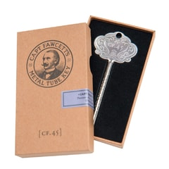 Captain Fawcett Metal Tube Key