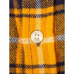 Portuguese Flannel Park Shirt - Yellow and Blue Checkers