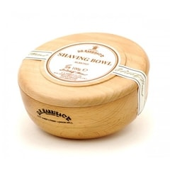 D.R. Harris Almond Shaving Soap in Wooden Bowl (100 g)