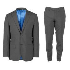 John & Paul Dark Grey Wool Suit