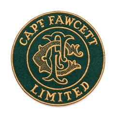 Captain Fawcett Felt Cloth Patch