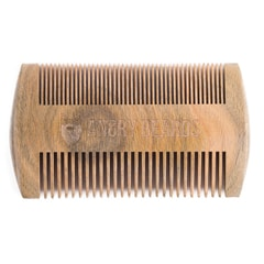 Angry Beards Reversible Sandalwood Beard Comb