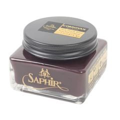 Saphir Médaille d'Or Pommadier Cordovan Shoe Cream Polish (75 ml)