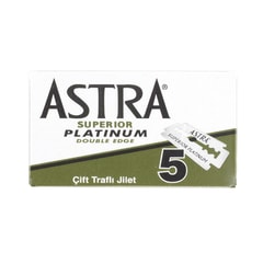 Astra Platinum Double Edge Razor Blades (5 pcs)