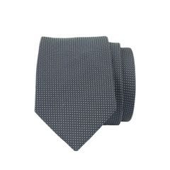 John & Paul Dark Blue Silk Necktie with Small Dots