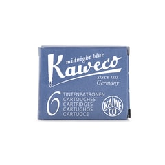 Kaweco Midnight Blue Ink Cartridges (6 pcs)