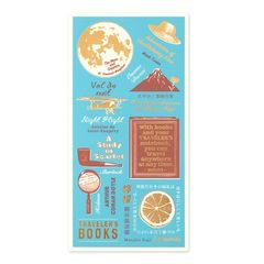 Traveler's Notebook Plastic Bookmark (2021 edition)