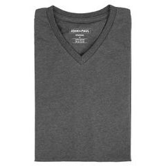 John & Paul Proper T-shirt - Grey (V-neck)