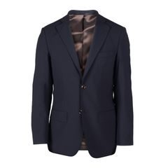 John & Paul Navy Wool Suit