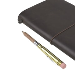 Traveler's Company Pencil with Brass Cover