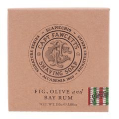 Cpt. Fawcett x Scapicchio Shaving Soap in Wooden Bowl (110 g)