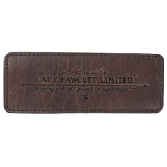 Captain Fawcett Leather Case for Folding Pocket Beard Comb (CF.82T)