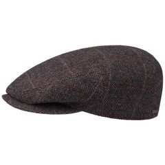 Stetson Kent Ivy Cap with Ear Flaps - Brown